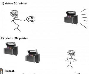 Drukarka 3D rozwiązaniem wszystkich problemów!