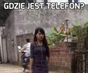 Gdzie jest telefon?
