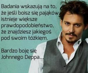 Boję się Johnnego Deppa...