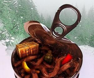 Worms 3D w konserwie