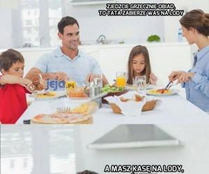 Zjedzcie grzecznie obiad