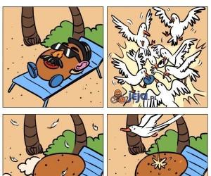 Pan Kartofel i pechowe wakacje