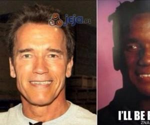 Arnold ma czarnego bliźniaka