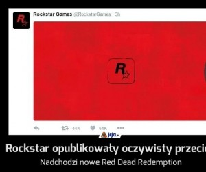 Rockstar opublikowały oczywisty przeciek