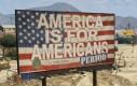 Ameryka jest dla Amerykanów