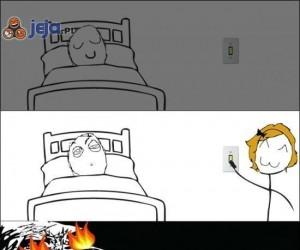 Gdy ktoś zapali światło...