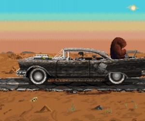 Pikselowa podróż po pustkowiach
