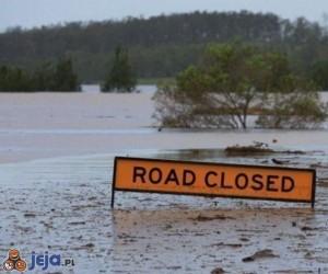 Droga zamknięta