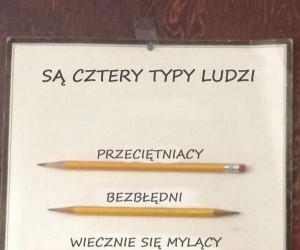 Ludzie i ich ołówki
