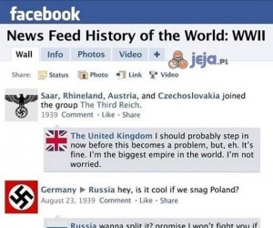 Facebook 75 lat temu