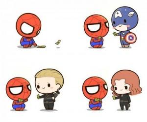 Spider-Man i kontakty