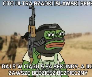 Ultra Rzadki Islamski Pepe