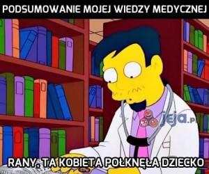 Podsumowanie mojej wiedzy medycznej