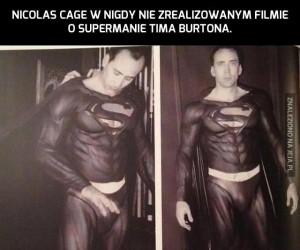 Nicolas Cage jako Superman?