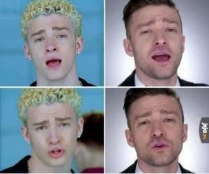 Justin Timberlake kiedyś i dziś