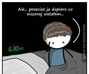 Każdego ranka to samo