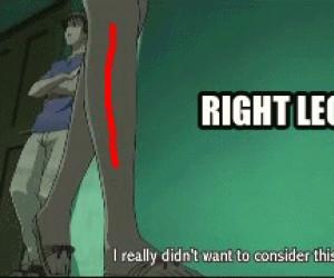 Prawa noga i... Już nie!