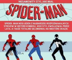 Niesamowity styl jaki miał Spider-Man