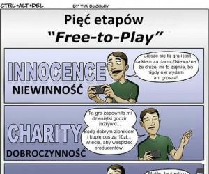"""Pięć etapów """"Free-to-play"""""""