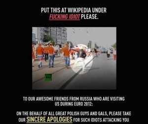 Prześlij to kolegom Rosjanom