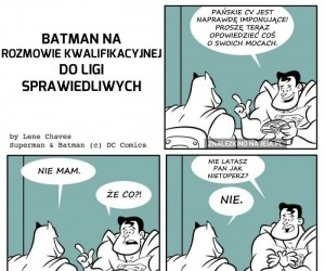 Batman na rozmowie kwalifikacyjnej