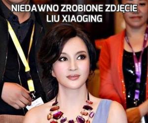 Niedawno zrobione zdjęcie Liu Xiaoging