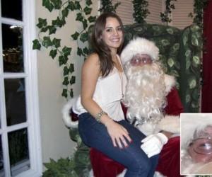 Obleśny Mikołaj jest obleśny