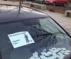 Trollowanie strażnika miejskiego