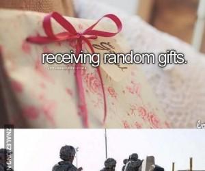 Och, uwielbiam prezenty!