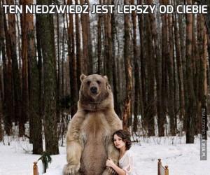 Ten niedźwiedź jest lepszy od Ciebie