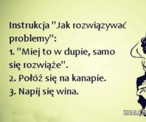 Jak rozwiązywać problemy?
