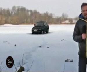Nie parkuj na środku jeziora