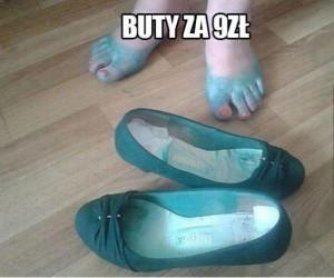 Nowiutkie buty