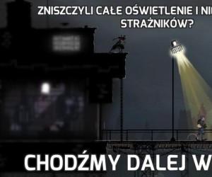 Zniszczyli całe oświetlenie i nie ma innych strażników?
