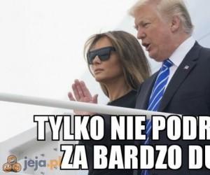 Trump z wizytą w Polsce