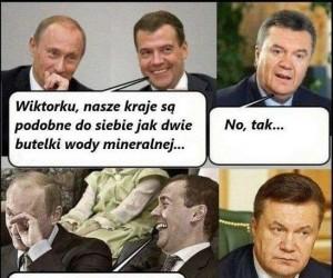 Rosja i Ukraina są jak dwie butelki wody