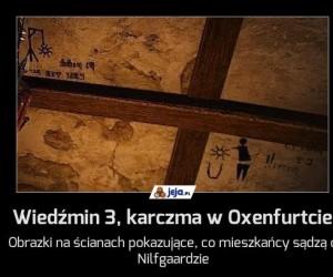 Wiedźmin 3, karczma w Oxenfurtcie