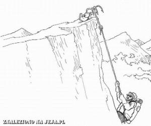 Samobójstwa zajączka: Zajączek i alpinista