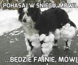 Pohasaj w śniegu, mówili...