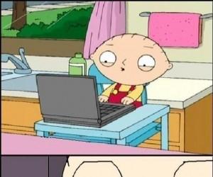 Stewie i Justin Bieber