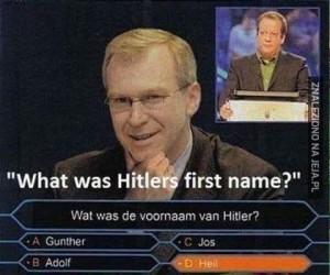 Jak miał na imię Hitler?