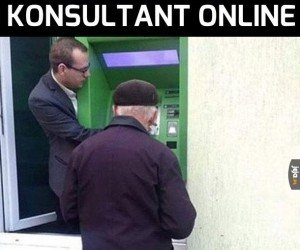 Konsultant Online zawsze do usług