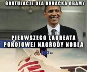 Serdeczne gratulacje Barack