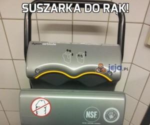 Suszarka DO RĄK!