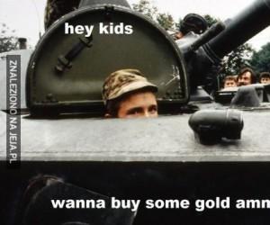 Gold ammo?
