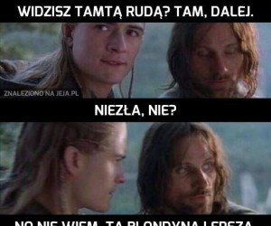 Aragorn, obczaj tę niunię...