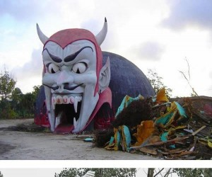 Opuszczony park rozrywki