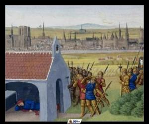 Kiedy burgundzcy wojowie Twój gród szturmują