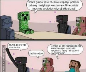 Jak ulepszyć Minecrafta?