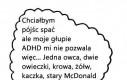 Zasypianie z ADHD
